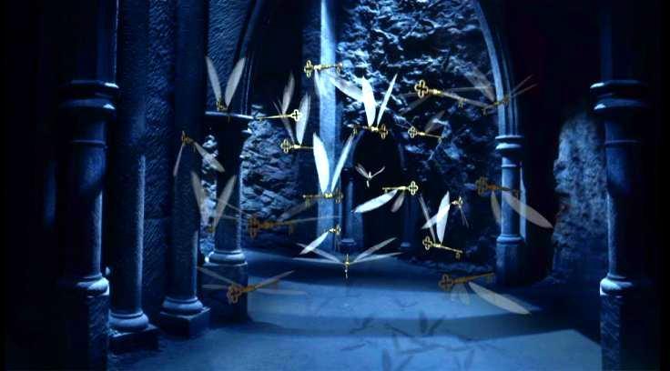 Inspiración y caos. Llaves voladoras de Harry Potter