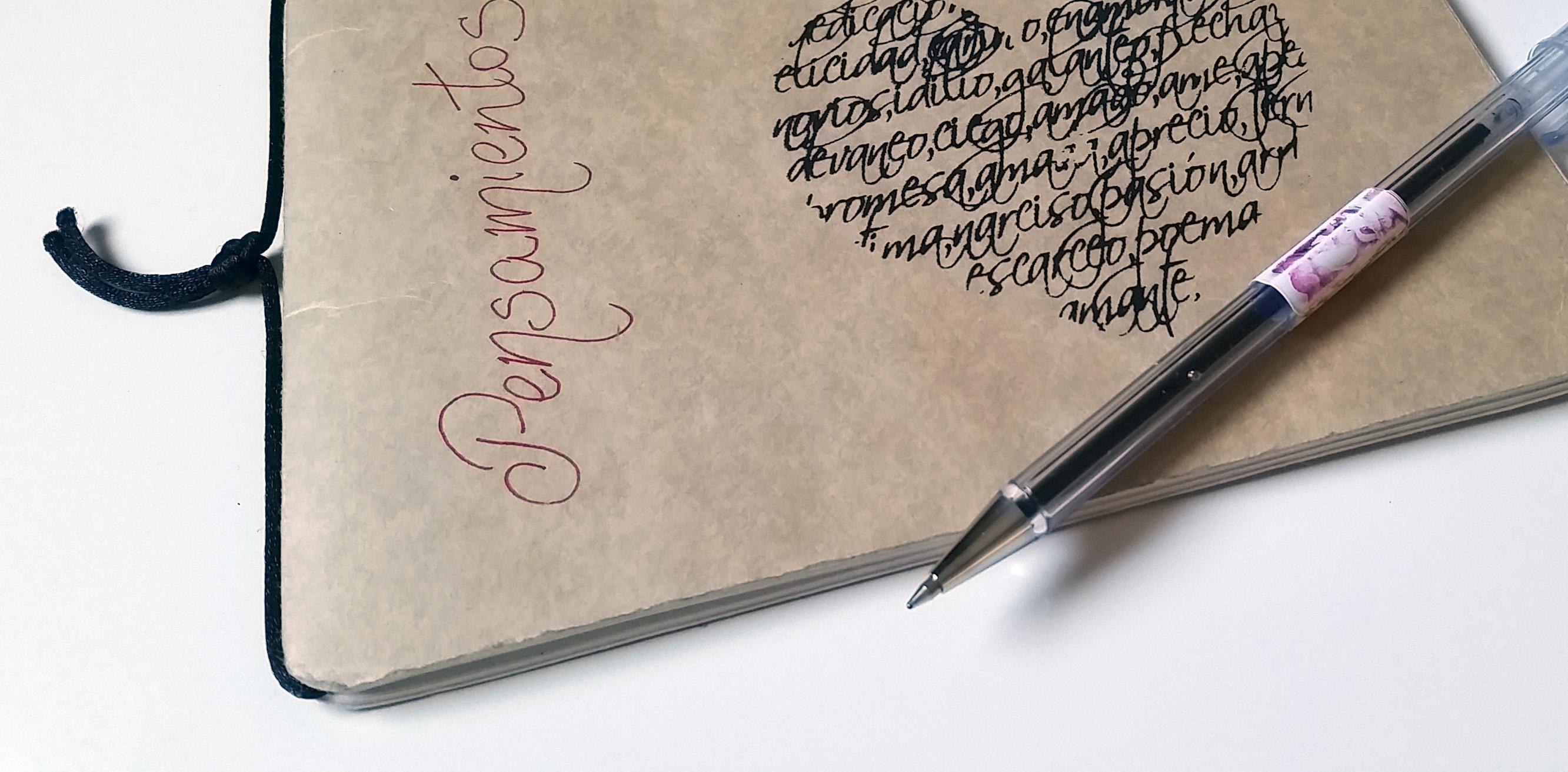 cuaderno de pensamientos