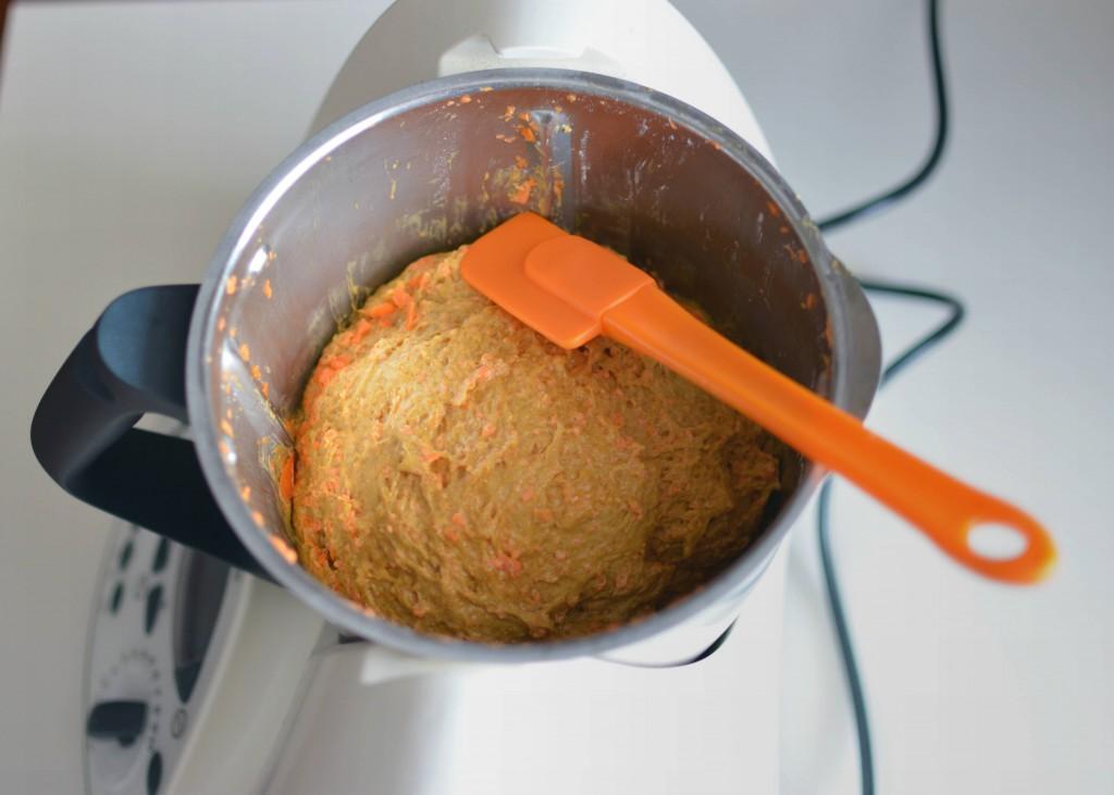 masa pastel zanahoria